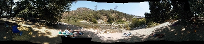 panorama of yuba river